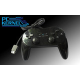 Control Clásico Pro Negro Para Nintendo Wii Classic Pro