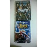 Combo Dvd Vingadores Avengers + Dvd Thor Animacao Novo