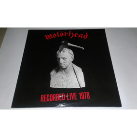 Lp Motorhead Whats Words Worth?recorded Live 1978 Vinil Red