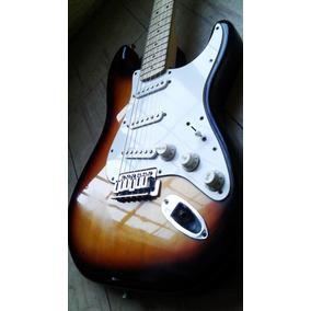 Fender Stratocaster Squier Mango Maple Canje Envio Tarjetas!