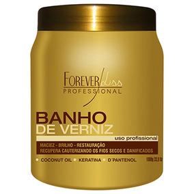 Banho Verniz Hidratação Profissional C1 Forever Liss 1 Kg -