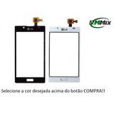 Tela Vidro Touch Lg Optimus L7 P700 P705 P705f Preto / Branc
