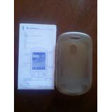 Funda Tpu Transparente Y Manual De Usuario Alcatel Ot-710a
