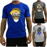 3 Camiseta Masculina T-shirt Blusa Camisa Original Treino
