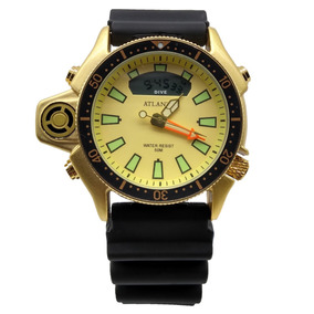 c7a90e0879f Relogio Jaguar Ouro - Relógio Atlantis Masculino no Mercado Livre Brasil