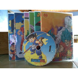 Dvd Dragon Ball Todas As Sagas Com Box E Encarte + Brinde