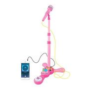 Juguete Microfono,karaoke Luces, Conexion Mp3  Celular  Love