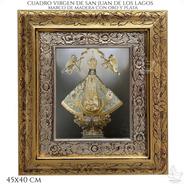 Cuadro Virgen De San Juan De Los Lagos 45x40cm C015