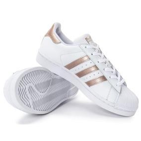 Tenis Adidas Superstar Original Dourado - Tênis Casuais Masculino no ... 83c506d3cbebf
