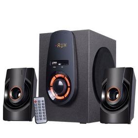 Caixa De Som Amplificada Knup Com Bluetooth Home Pc Tvbox