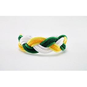 Pulseira Bracelete Brasil Copa Do Mundo 2018 Unissex