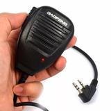 Microfone Mini Ptt Externo Para Rádio Ht Comunicador