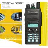 Radio Motorola Pro 7650 7550 Troncalizado Intrinseco 800mhz