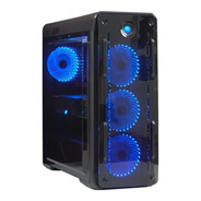 Gabinete Gamer Gamemax Optical G510 Com Led Azul - Novo