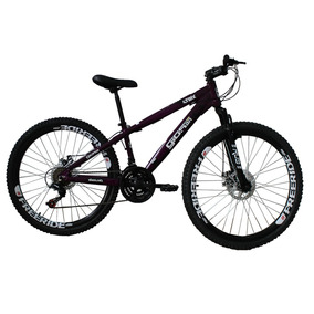 Bicicleta Frx/4trix Freeride Aro 26 21v Roxo Freeride