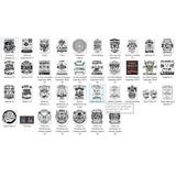 Vectores Leyendas +50 Diseños - 100% Editables + Fuentes