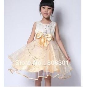 Vestido Importado De Criança De Festa Luxo