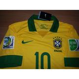 Camisa Seleção Brasileira Campeã Copa Confederações 2013