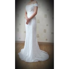 Vestido De Novia Sirena Talla 30-32 Marfil Strapless Oferta