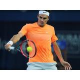 Polera Tenis Nike Salmon Fluor Roger Federer Dubai 2015 S