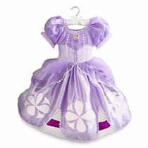 ~disfraz Vestido Princesita Sofia Original Disney Store $869