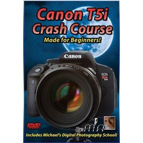 Canon T5i Crash Curso De Formación Tutorial Dvd