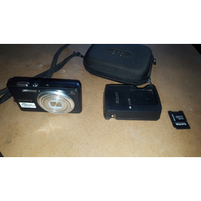 Camera Digital Cyber Shot 16.1 Mp 8 X Zoom Seminova