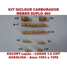 Kit Carburador Weber 460 Escort Sapao Logus 1.6 Cht Gasolina