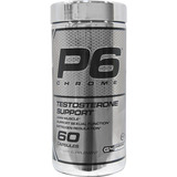 Cellucor P6 Chrome Suporte A Testosterona 60 Caps E U A