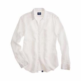 Camisa Slim De Hombre Blanca