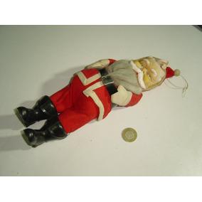 Vintage Figura De Santa Claus Japan Cara De Vinil