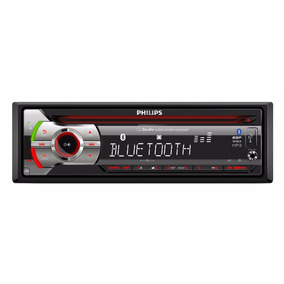 Stereo Philips Cem2220 Bluetooth Audio Auto Garantia Oficial