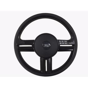 Volante Direção Rallye Som Ford F100 F1000 F75 F250 Preto