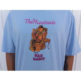 Camiseta The Hundreds Lover Bear Azul Original Conceito