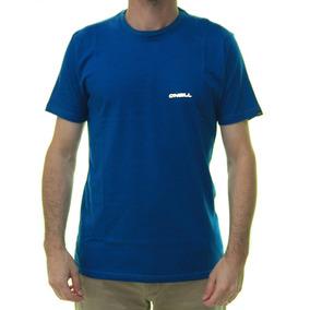 df57e6f431 Camiseta Masculina Oneill Simple Estampada Manga Curta - Azu