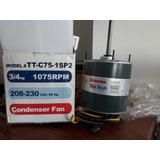 Motor Ventilador 3/4 Hp 1075 Rpm 60 Hz Nuevo