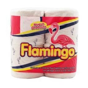 Colchón Papel Higiénico Flamingo 24 Bolsas De 4 Rollos
