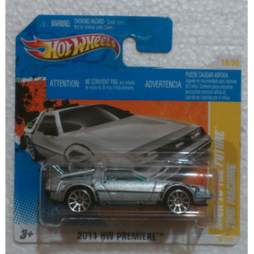 Hot Wheels Time Machine Delorean Regreso Al Futuro