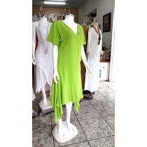 Vestido De Manta Verde