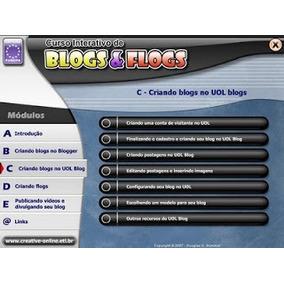 Curso Interativo De Blogs E Flogs