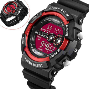 Relógio Sanda 320 Digital Importado Masculino Estilo G-shock