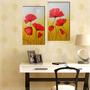 Cuadros Modernos Dípticos Florales