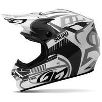Capacete Motocross Fechado Pro Tork Squad Cinza Sem Viseira