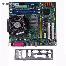 Placa Mãe Lga 775 Ddr2 Processador Pentium E2140 Nova (9600)