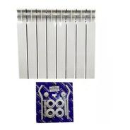 Radiador Caldaia 8 Elementos Con Kit Instalación