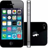 Apple Iphone 4s 8gb Preto Ios Nacional Nf-e Original I Novo