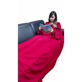 Cobertor Com Mangas - Tamanho :1,50x1,90m - Cobre Bem Os Pés