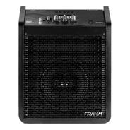 Caixa Amplificada Multi-uso Black 100w 6 Polegadas Frahm