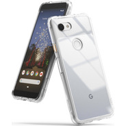 Funda Google Pixel 3a Fusion + Vidrio Templado Ringke + Env#
