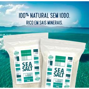 Sal Marinho De Mossoró In Natura - 100% Integral (1 Kg)